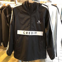 "CREDIT× AA  ""ANORAK・Black / WATAER GUARD"