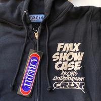 CREDIT × FMX SHOW CASE・Zip Hoodie・Black