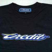 "CREDIT ""GRAND PRIX"" T-SHIRTS・Black"
