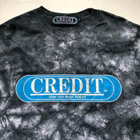 CREDIT タイダイ手染め ORIGINAL LOGO・BLACK