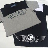 "CREDIT ""ATHLETIC - JERSEY"" TEE・Grey/Black"