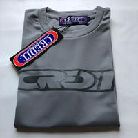 CREDIT Stadium Cross 315 T-SHIRTS ~ DRY Tee・Gray
