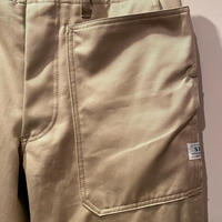 SASSAFRAS -Fall Leaf Sprayer Pants- (BEIGE)