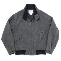 WORKERS ‐Harrington Jacket‐ (Grey Herringbone Tweed)