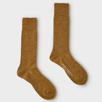 PHIGVEL‐MAKERS Co.-mil wool sox-(MUSTARD)