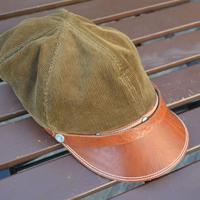 boncoura ボンクラ帽 コールテン(ブラウン)