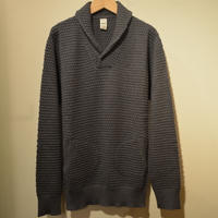 GRP‐spotknit‐shawlcollar(GRIGIO)