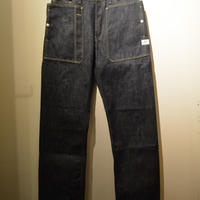 SASSAFRAS ‐Fall Leaf R Pants‐ (14oz rigid denim)