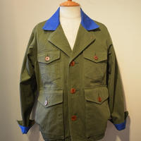 MOJITO BIG GAME TOUR JACKET bar.2.0 (OLIVE×BLUE)
