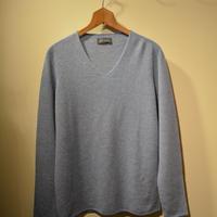 -seldom- V‐neck sweater ‐SAXBLUE‐