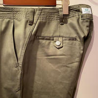 SASSAFRAS -sprayer pants- OLIVE