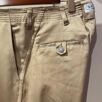 SASSAFRAS -sprayer pants- BEIGE