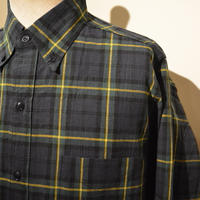 SASSAFRAS ‐green thunb shirt‐ tartan check (GREEN)