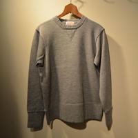boncoura  2016AW 両Vセーター (メリノウール) グレー
