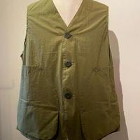 SASSAFRAS-Landscaper Vest-Olive( cotton ripstop)