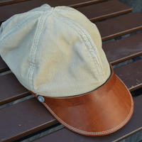 boncoura ボンクラ帽 コールテン(サンド)