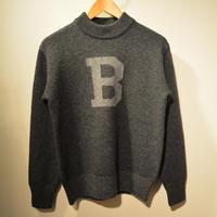 boncoura 2019AWモックネックBセーター(GRAY)