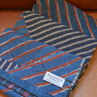kenneth field 20ss -scarf 3layer hand stitch limed-
