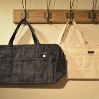 kenneth field -tool tote bag- indigodenim&naturalcanvas