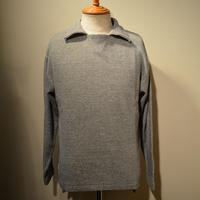 kenneth field L/S POLO  ‐GRAY‐