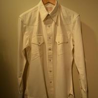 boncoura ウェスタンシャツ (ホワイト)