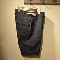 Kenneth Field -TURN UP SHORTS- DARKNAVY