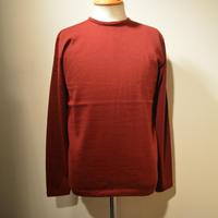 boncoura 2018aw クルーネックセーター (バーガンディ)