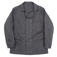 WORKERS‐Double Front Jacket‐ (Covert Herringbone Stripe)