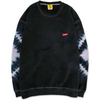 """D.Y.E×CREIGHT """"ONE OF A KIND Tie-Dye CrewSweat""""/ XL-No.2"""