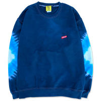 "D.Y.E×CREIGHT ""ONE OF A KIND Tie-Dye CrewSweat""/ L-No.1"