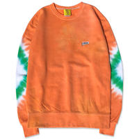 "D.Y.E×CREIGHT ""ONE OF A KIND Tie-Dye CrewSweat""/L"