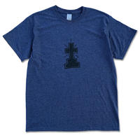 "ERIC DRESSEN×CREIGHT ""#1 TEE"" / HEATHER NAVY"