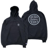 "CREIGHT CUSTOMWORKS""PullOver""/BLACK"