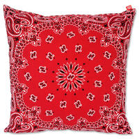 "CREIGHT BANDANNA COLLECTION ""CUSHION"" / RED"