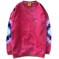 "D.Y.E×CREIGHT ""ONE OF A KIND Tie-Dye CrewSweat""/ XXL-No.2"