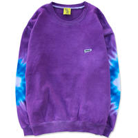 "D.Y.E×CREIGHT ""ONE OF A KIND Tie-Dye CrewSweat""/ XL-No.4"