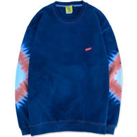 """D.Y.E×CREIGHT """"ONE OF A KIND Tie-Dye CrewSweat""""/ XL-No.3"""