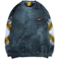 "D.Y.E×CREIGHT ""ONE OF A KIND Tie-Dye CrewSweat""/ XL-No.1"