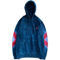 """D.Y.E×CREIGHT """"ONE OF A KIND Tie-Dye PullOver""""/ L-No.1"""