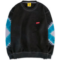 "D.Y.E×CREIGHT ""ONE OF A KIND Tie-Dye CrewSweat""/ L-No.2"