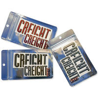 """CREIGHT """"DIE-CUT STICKER PACK"""" / RED,GOLD SILVER 3color"""