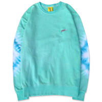 "D.Y.E×CREIGHT ""ONE OF A KIND Tie-Dye CrewSweat""/XL"