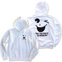 "CREIGHT ""SNOT DROP"" PullOver / WHITE"