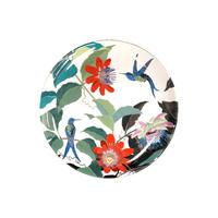ディナープレート(大皿) ハチドリとトケイソウ