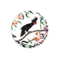 ディナープレート(大皿) ヤシオウムとユーカリ
