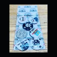 Scumputer - Badge x7 Set