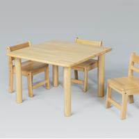 角テーブル W75 x D75cm <H51>