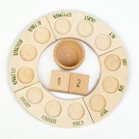 パペチュアルカレンダー(Nins無し) (Platforms,dices&bowl Perpetual Calendar) 17-171