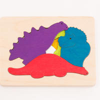 3重パズル・恐竜
