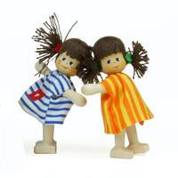 クレーブス人形 女の子 2種 【単品販売】